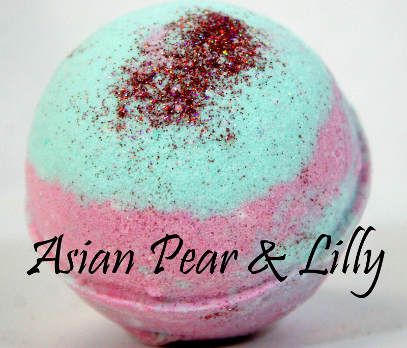 Asian Pear & Lilly Bomb
