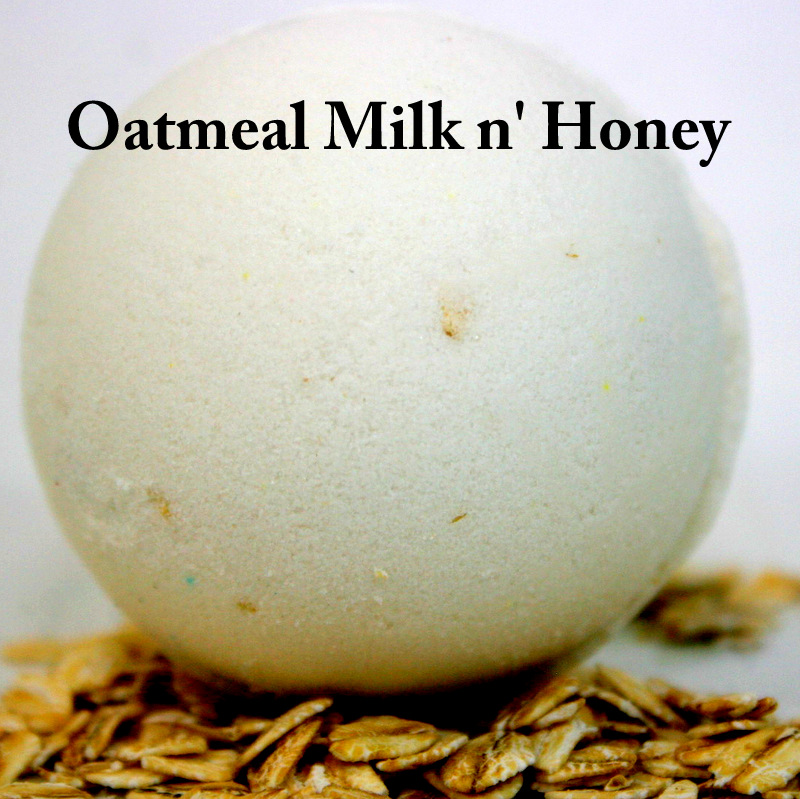 Oatmeal Milk n Honey Bath Bomb