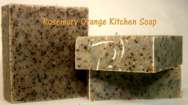Rosemary Orange Kitchen Soap